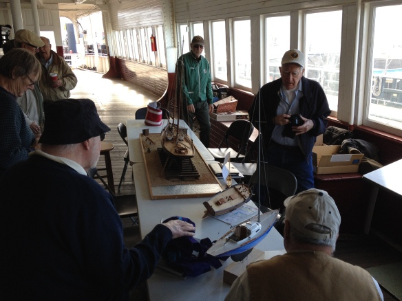 Photo from the November 2014 meeting aboard the Eureka