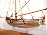 18th Century English Longboat by Clare Hess