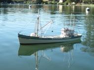 Fishing boat Pauline by Carlos Oliva