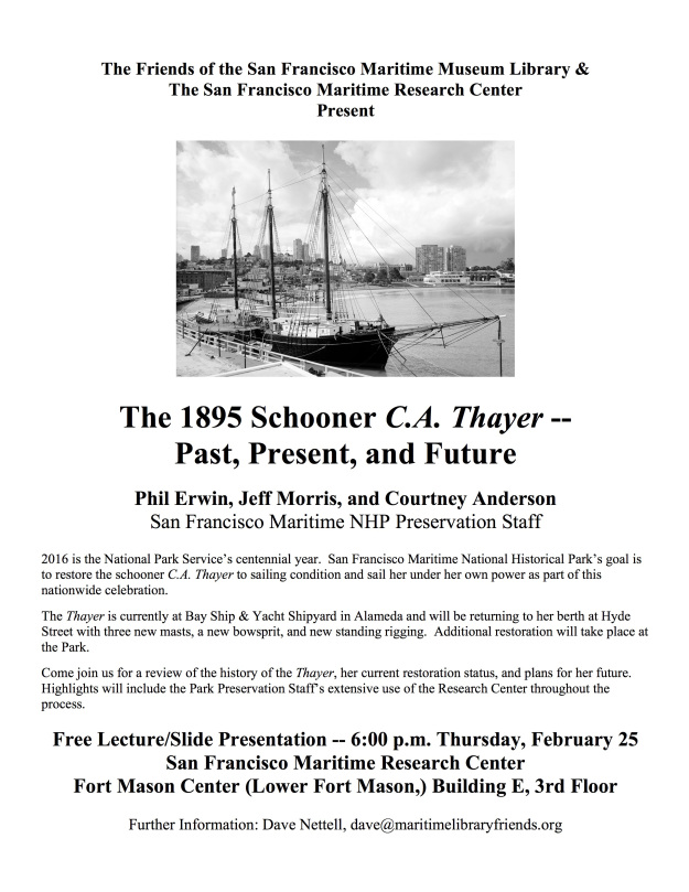 THAYER Lecture