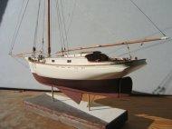 Yacht Freda by Hyde Street Pier Model Shipwrights