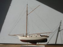 Yacht Freda by Hyde Street Pier Model Shipwrights