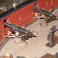 Armed Virginia Sloop by Paul Reck