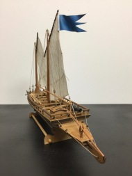 Swedish Gunboat by Clare Hess