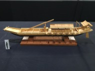 Kamakura Period Large Sea Boat by Clare Hess