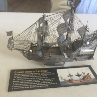 Queen Anne's Revenge metalworks kit by Tom Shea