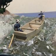 Hozu River diorama by Clare Hess